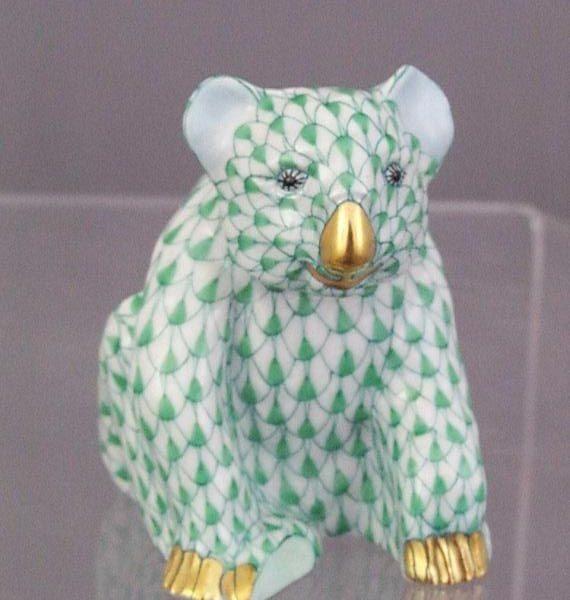 Koala, small - Fishnet Green