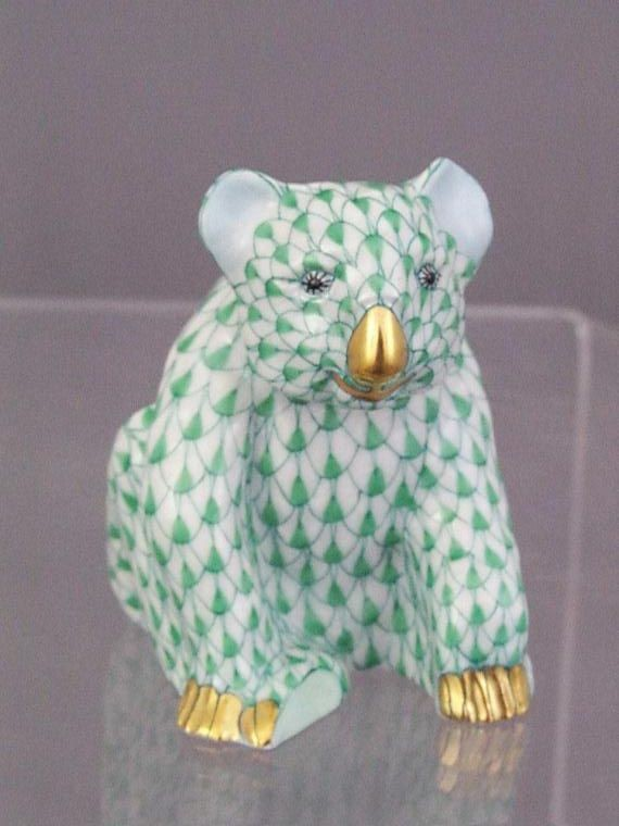 Koala, small - Fishnet Green