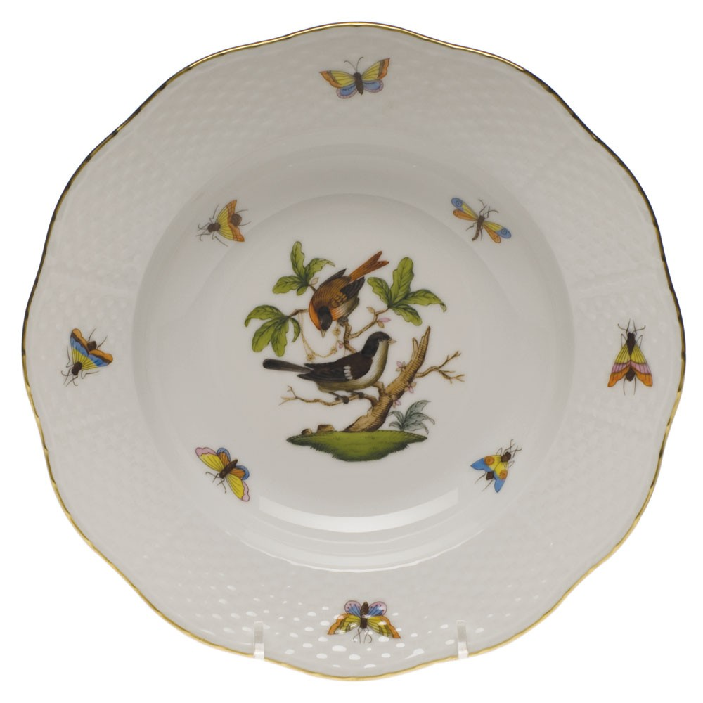 Soup Plate - Rothschild Bird