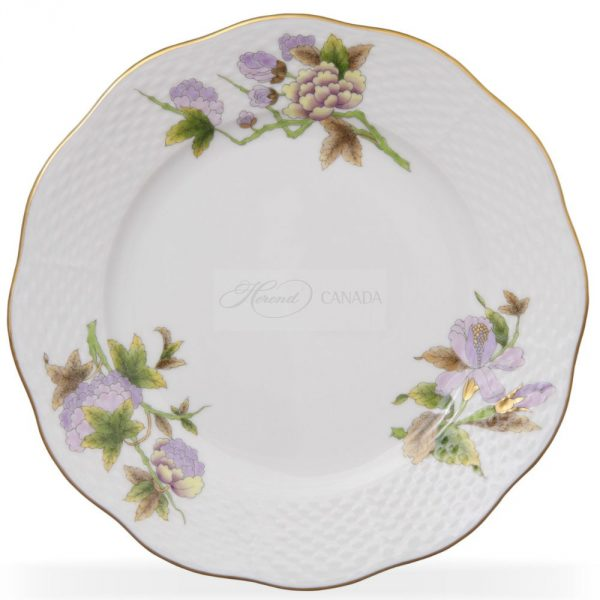 Dessert Plate - Royal Flowers