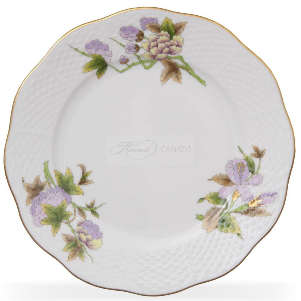 Dessert Plate - Royal Flowers