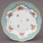Dessert Plate - Turquoise Eclectic