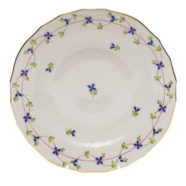 Dessert Plate - Petite Blue Garland