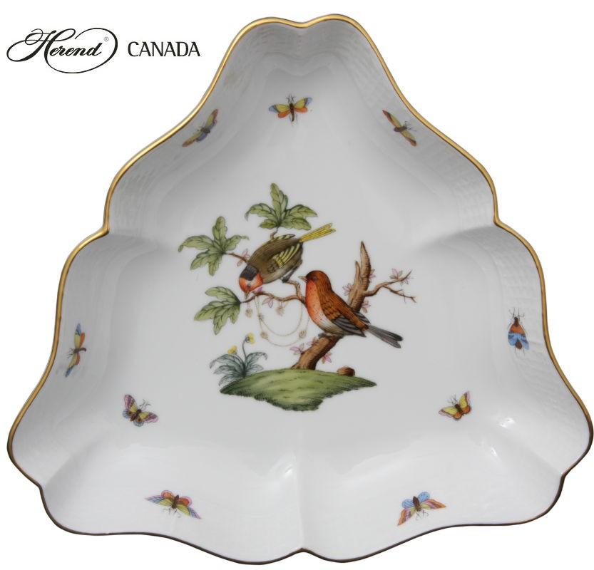 Triangle Dish - Rothschild Bird