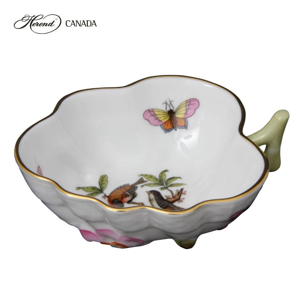 Sugar Bowl (Leaf shaped) - Rothschild Bird
