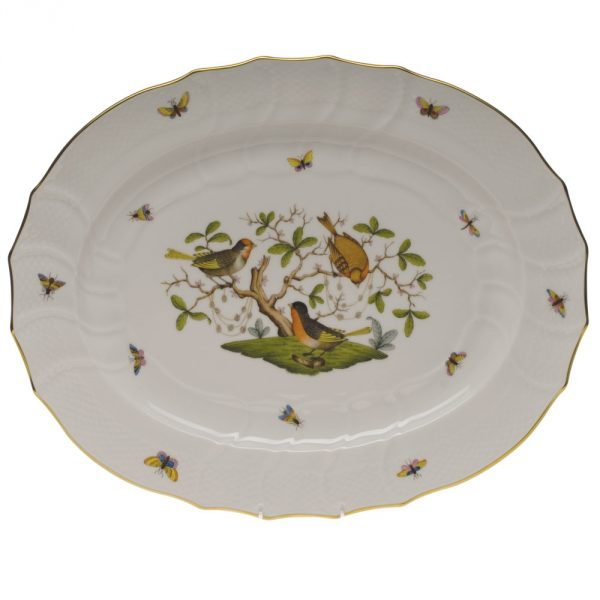 Turkey Platter - Rothschild Bird