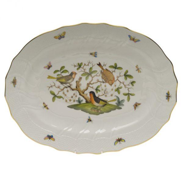 Oval dish - Rothschild Bird