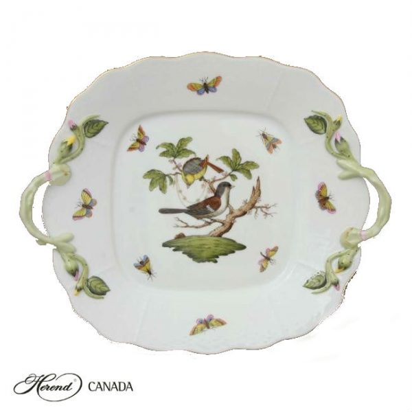 Cake Plate - Rothschild Bird