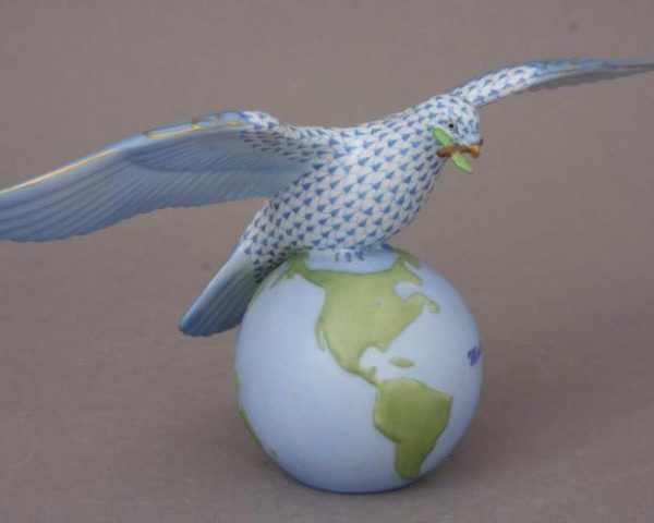 Peace Dove - Full Fishnet Blue