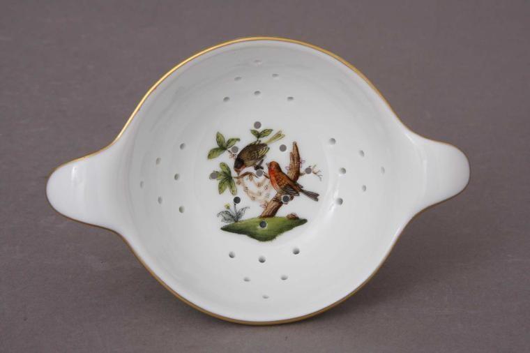 Tea Strainer with cup - Rothschild Bird
