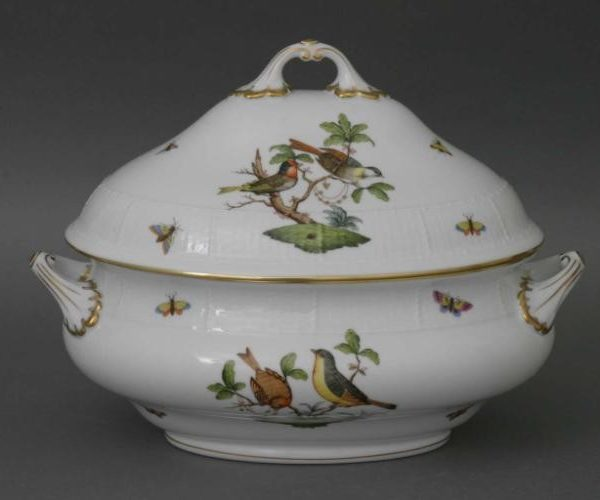 Soup tureen, strap knob - Rothschild Bird (6 QT)