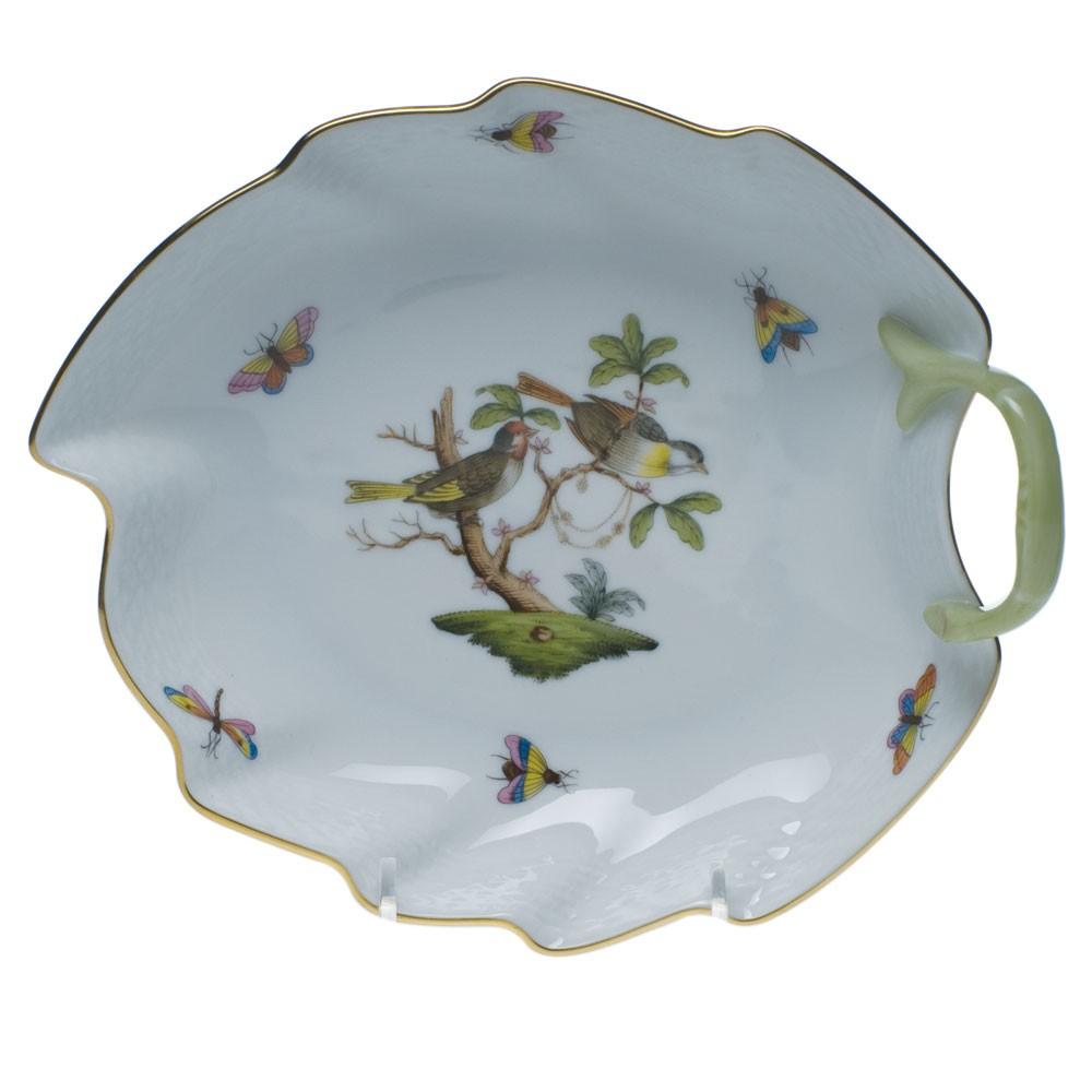 Small Leaf Dish - Rothschild Bird