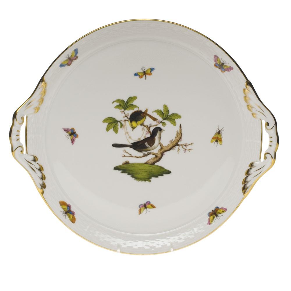 Cake Plate w. handle - Rothschild Bird