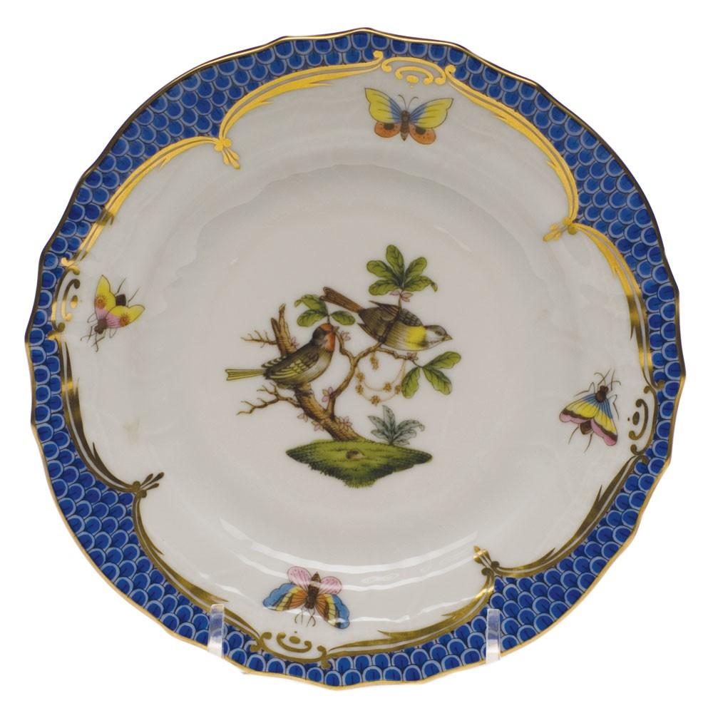 Salad Plate - Rothschild Bird Blue