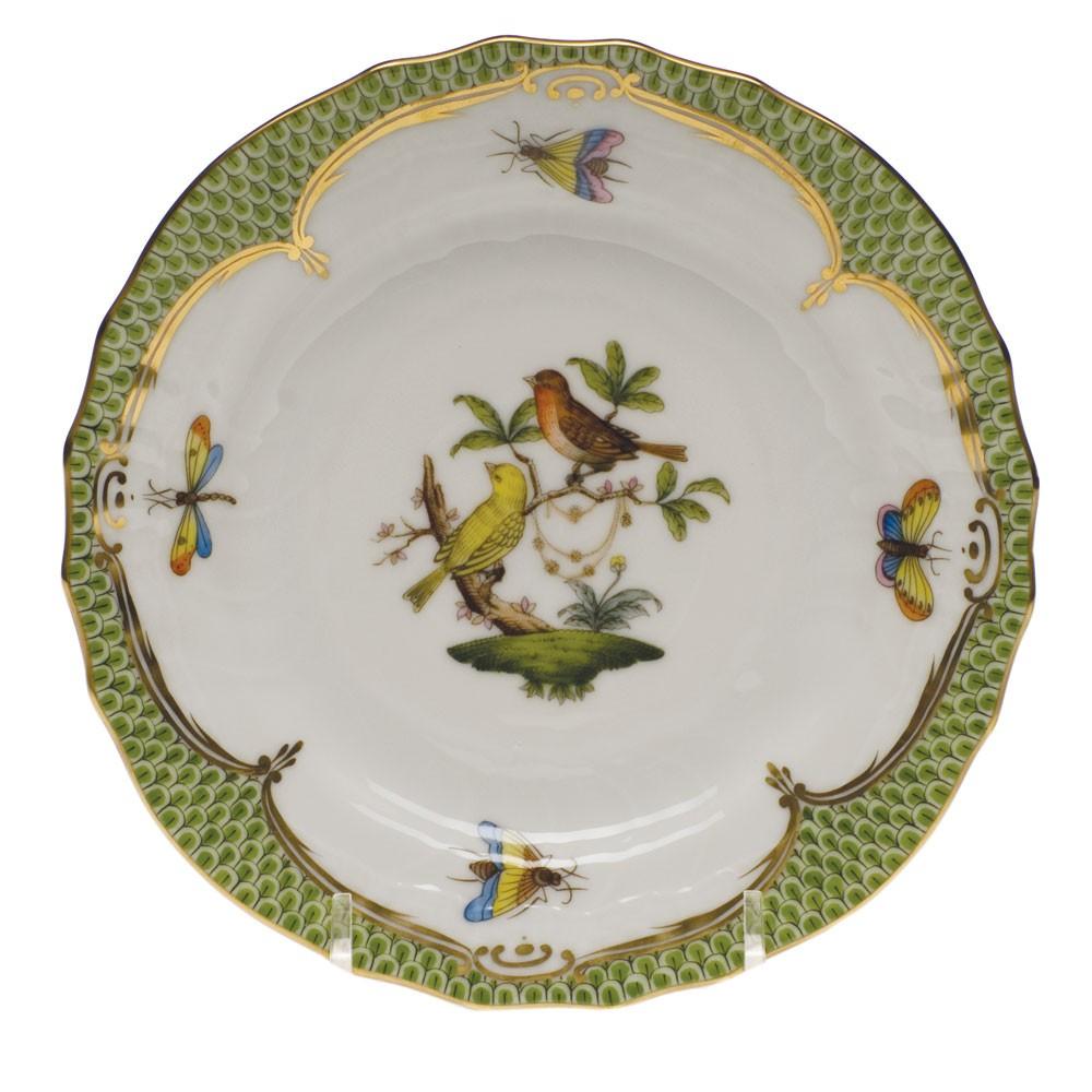 Salad Plate - Rothschild Bird Green