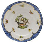 Dessert Plate - Rothschild Bird Blue