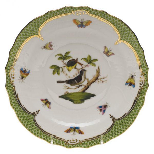 Dessert Plate - Rothschild Bird Maroone
