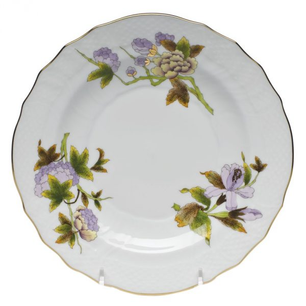 Salad Plate - Royal Flowers