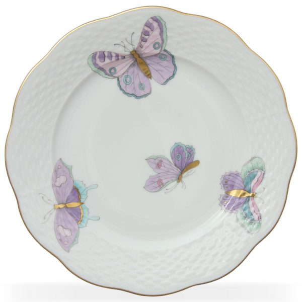 Salad Plate - Royal Garden Butterfly (Assorted Colors)