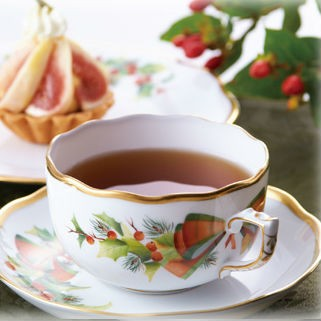 Teacup and Saucer - Christmas Edition