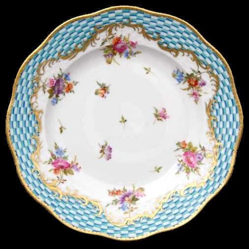 Salad Plate - Turquoise Eclectic