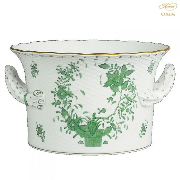 Flowerpot with handle (Assorted Decors)