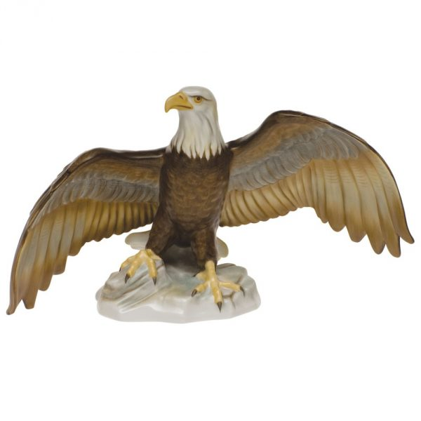 herend-bald-eagle-natural-matt-animal-figurine