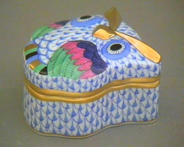 Bonbonniere, owl-shaped