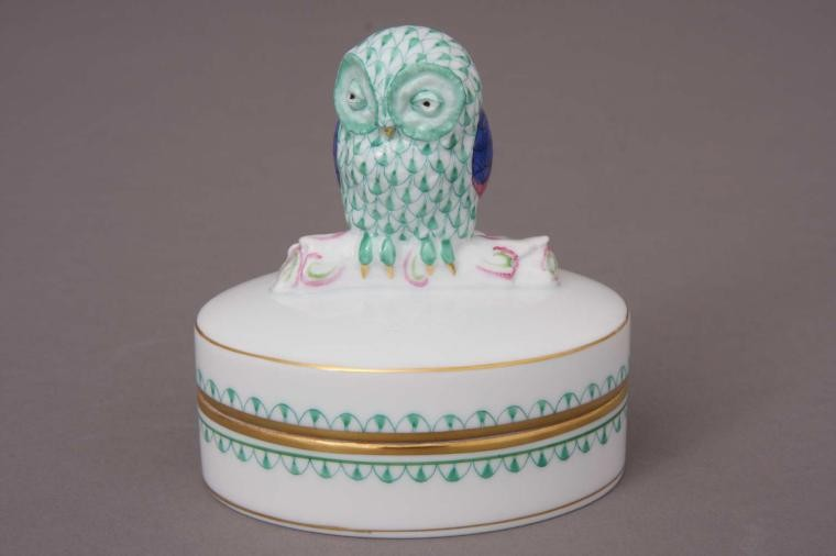 Box with Owl