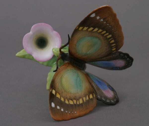 Candlestick with butterfly
