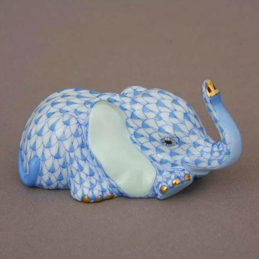 Baby Elephant, Lying