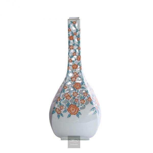 Vase, pierced