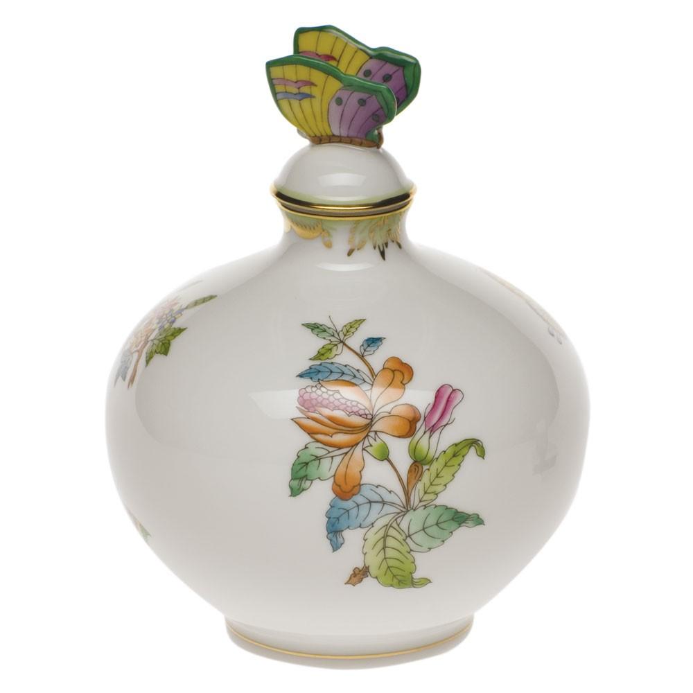 Perfume Bottle, butterfly knob