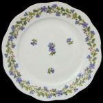 Bread & Butter Plate - Rich Petite Blue Garland