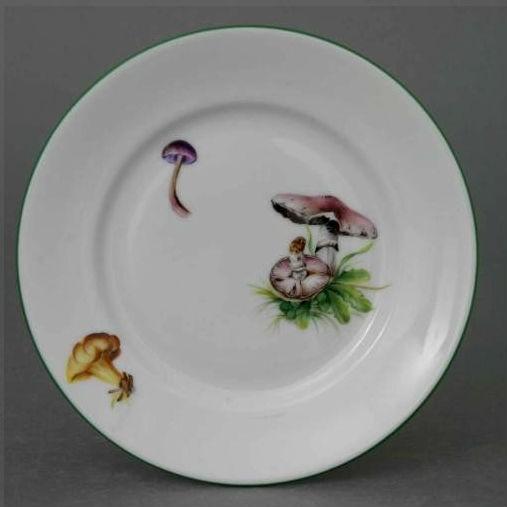 Dessert Plate - Mushroom Edition
