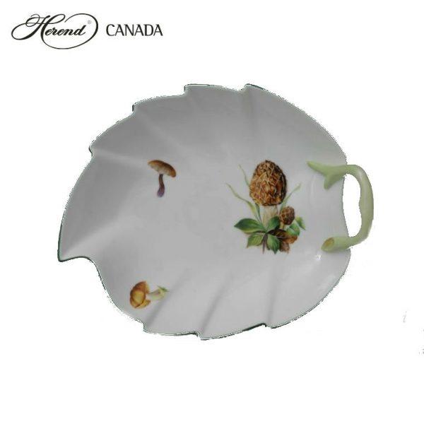 Small Leaf Dish - Mushroom Edition