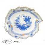 Leaf Dish - Indian Basket Blue