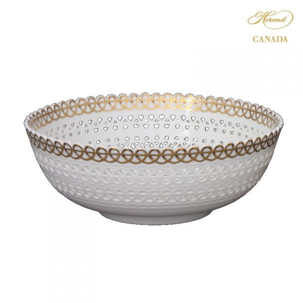 Dish, with Loops, Pierced