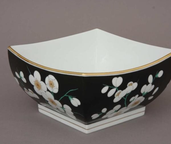 Regtagular bowl Rothschild Bird