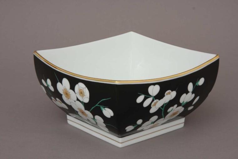 Regtagular bowl Rothschild Bird