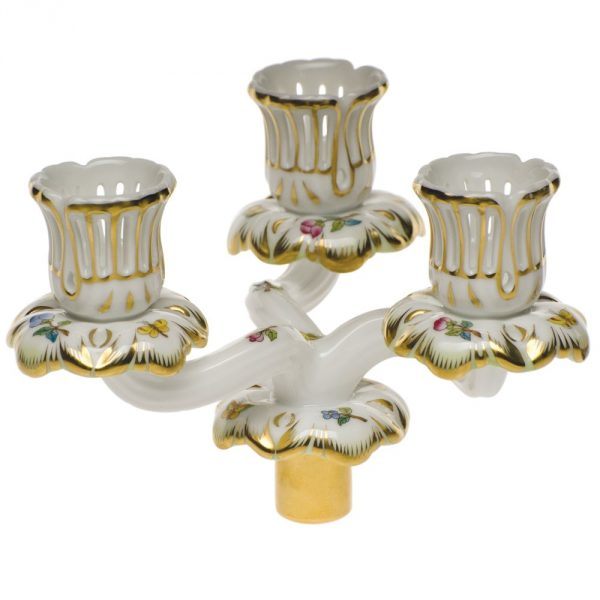 Triple Candle Arm (Assorted Decors)