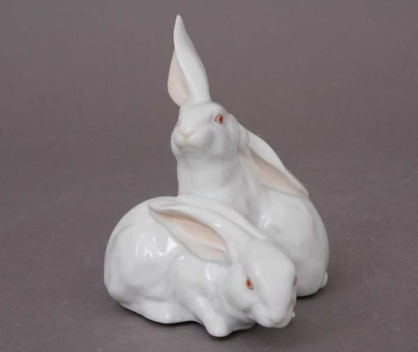 Pair of rabbits - Assorted Decors