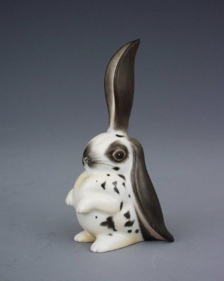 Standing Rabbit (Assorted Decors)