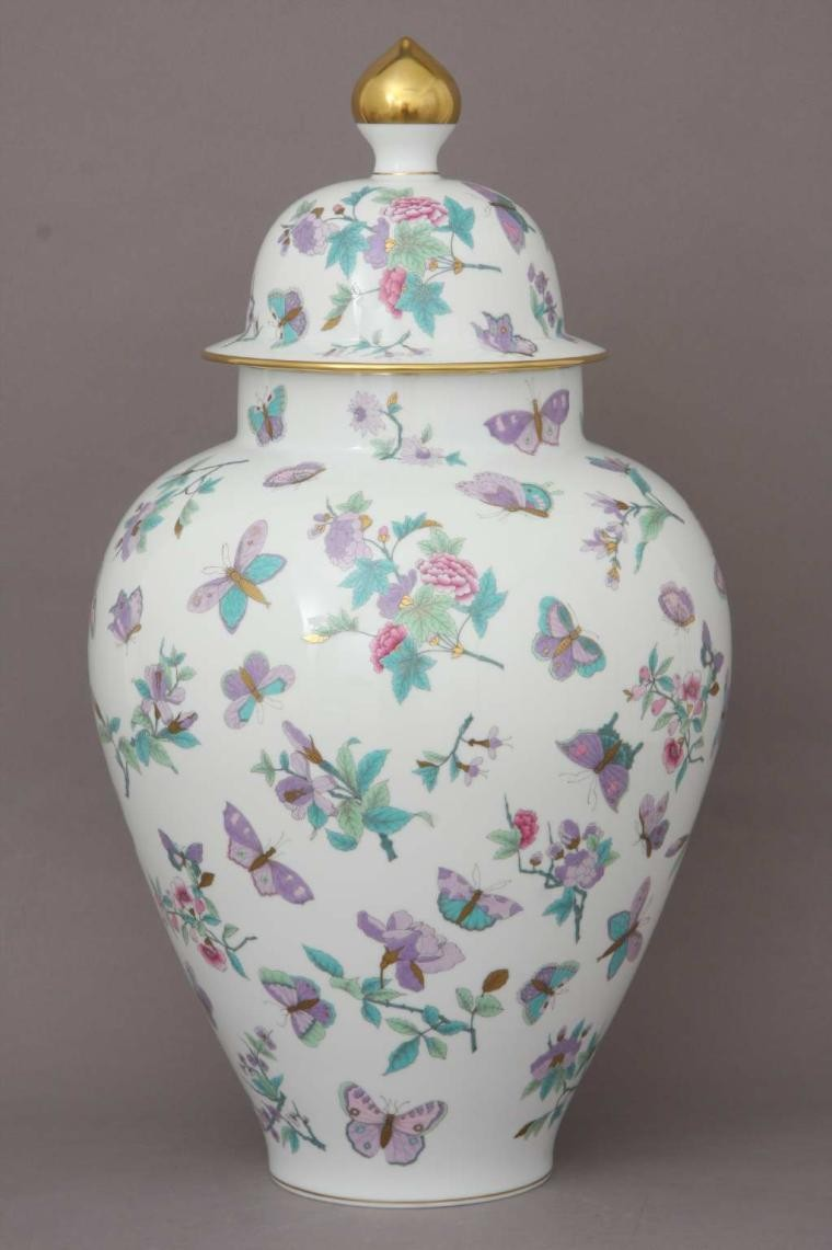 Vase, button knob (Assorted Decors)