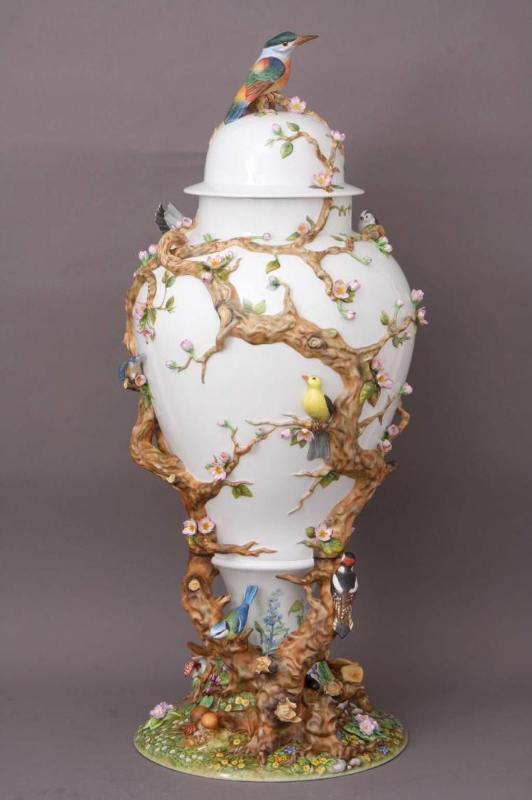 Herend Bravura Vase - Reserve Collection
