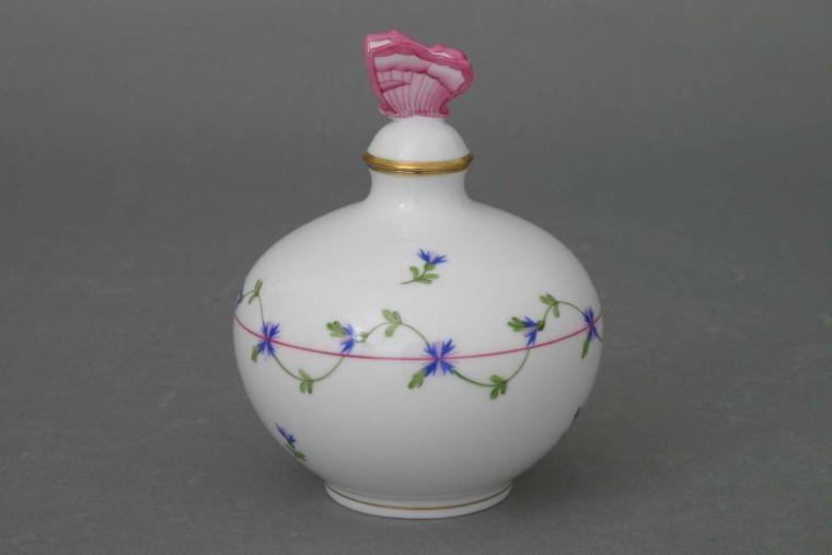 Perfume Bottle, butterfly knob (assorted Colors)
