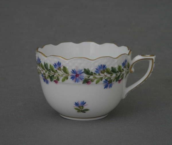 Espresso Cup - Rich Petite Blue Garland