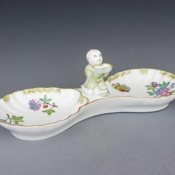 Double fancy dish, with mandarin