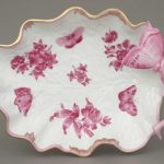 Large Leaf Dish with Butterfly (Assorted Decors)