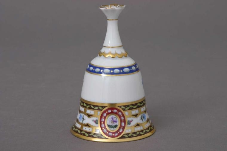 Table Bell, Flower Knob (Assorted Decors)